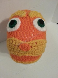 Lorax Dr Suess Character Hat Crochet Pattern (2)