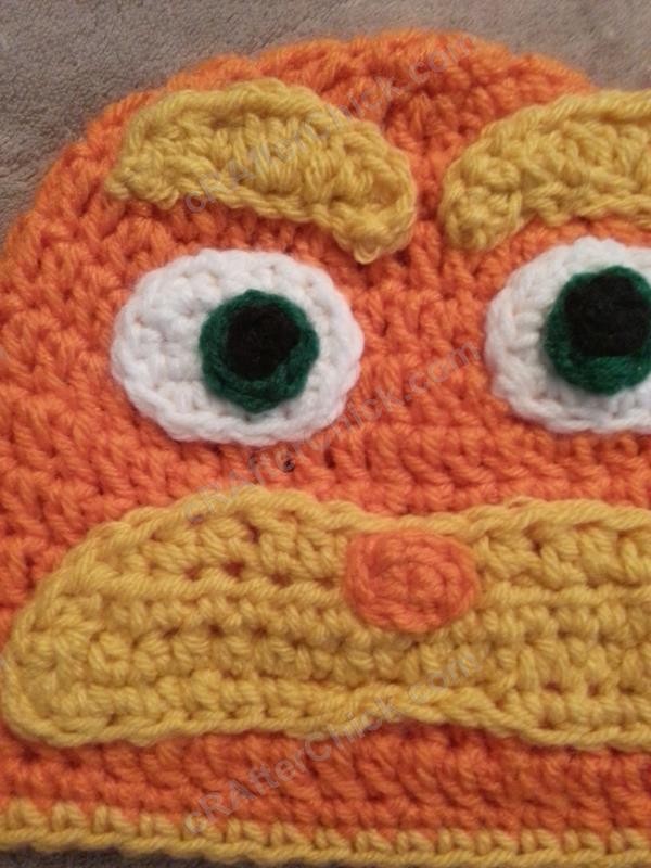 Lorax Dr Suess Character Hat Crochet Pattern Crafterchick Free