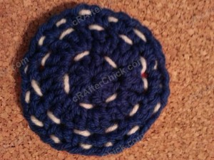 Reversible Coasters with Contrast Stitching Crochet Pattern (13)