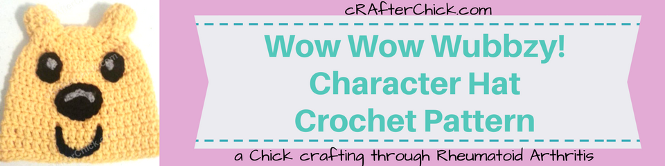 Wow Wow Wubbzy! Character Hat Crochet Pattern_ a chick crafting through Rheumatoid Arthritis cRAfterChick.com