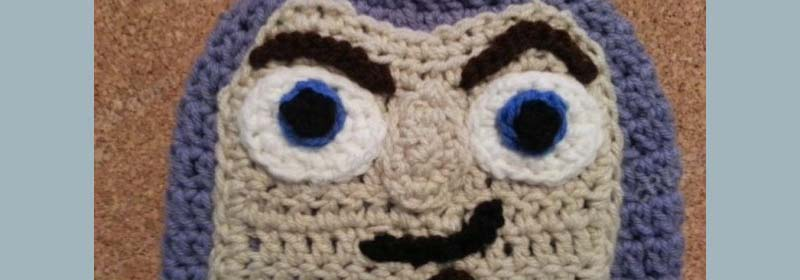 Buzz Lightyear from Toy Story Character Hat Crochet Pattern