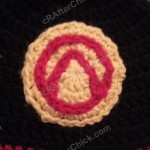 Borderlands Video Game Vault Symbol Large Applique Crochet Pattern
