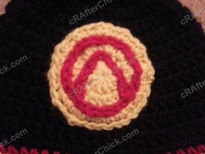 Borderlands Video Game Vault Symbol Applique Crochet Pattern