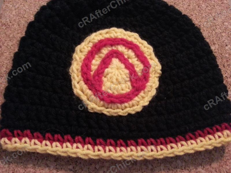 Borderlands Video Game Vault Symbol Large Applique Crochet Pattern ...