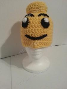 Lego Man Character Hat Crochet Pattern (20)