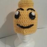 Lego Man Character Hat Crochet Pattern