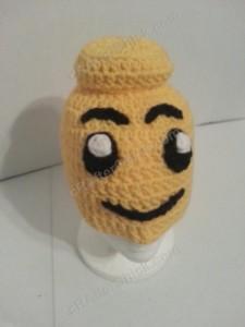 Lego Man Character Hat Crochet Pattern (3)