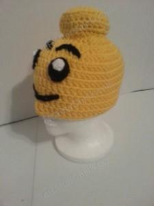 Lego Man Character Hat Crochet Pattern (4)