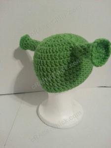 Shrek Ear Costume Beanie Hat Crochet Pattern (17)