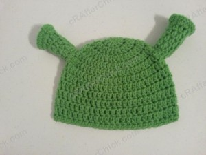Shrek Ear Costume Beanie Hat Crochet Pattern (2)