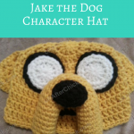 Adventure Time's Jake the Dog Character Hat Crochet Pattern