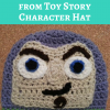 Buzz Lightyear from Toy Story Character Hat Free Crochet Pattern