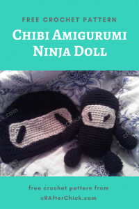 Chibi Amigurumi Ninja Doll Free Crochet Pattern