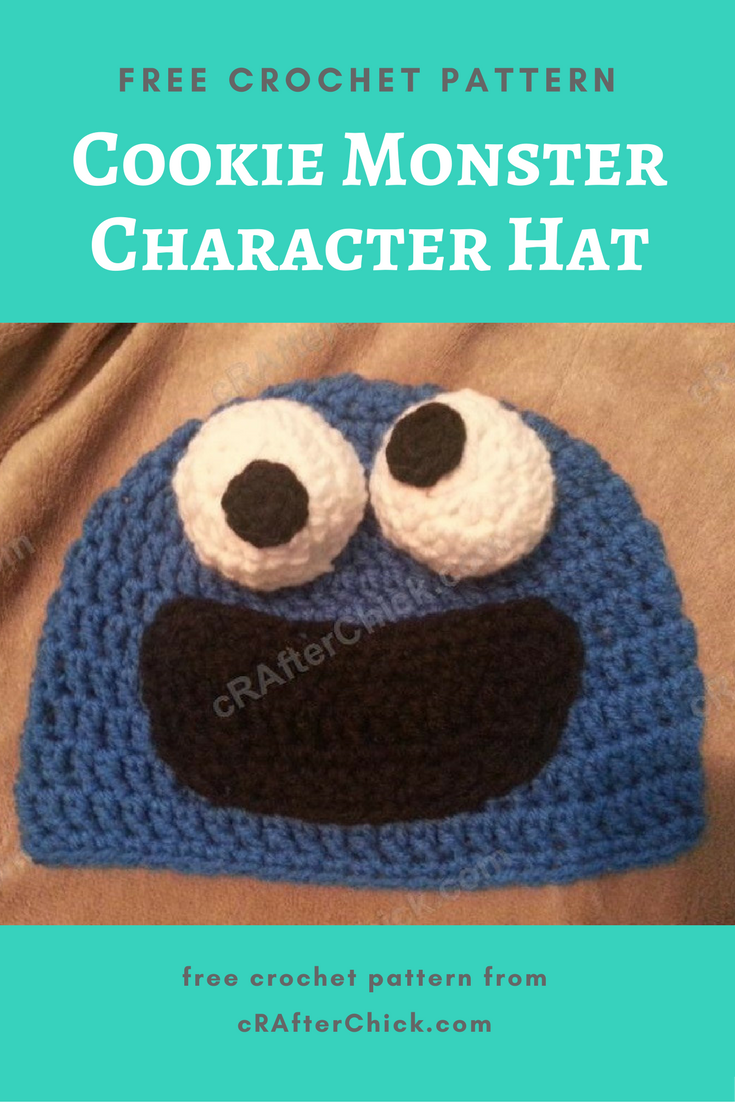 Cookie monster character hat crochet pattern crafterchick free cookie monster will always remain one of my favorite sesame street characters of all time i never could get enough of him and elmo oh and then count bankloansurffo Gallery