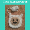 Adventure Time's Finn Character Hat Free Crochet Pattern long