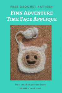 Copy of Adventure Time's Finn Character Hat Free Crochet Pattern long