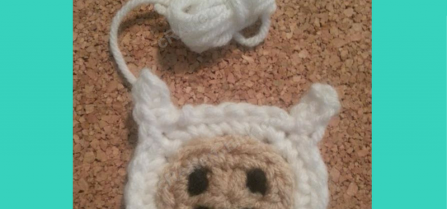 Copy of Adventure Time's Finn Character Hat Free Crochet Pattern long