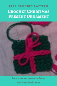 Crochet Christmas Present Ornament Free Crochet Pattern
