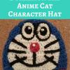 Doraemon the Anime Cat Character Hat Free Crochet Pattern