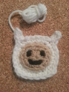 Finn Adventure Time Face Applique Crochet Pattern1