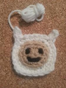 Finn Adventure Time Face Applique Crochet Pattern1