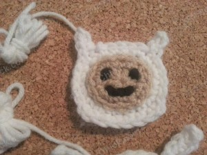 Finn Adventure Time Face Applique Crochet Pattern3
