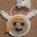 Fionna Adventure Time Face Applique Crochet Pattern