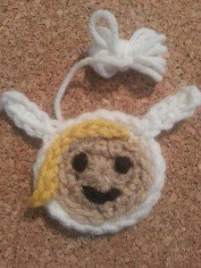 Fionna Adventure Time Face Applique Crochet Pattern