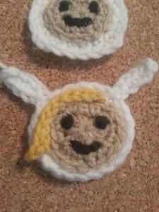 Fionna Adventure Time Face Applique Crochet Pattern3