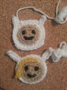 Fionna Adventure Time Face Applique Crochet Pattern4