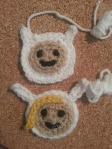 Fionna Adventure Time Face Applique Crochet Pattern4