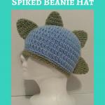 Gavin's DinoRAWR Spiked Beanie Hat Crochet Pattern