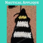 Large Lighthouse Nautical Applique Crochet Pattern