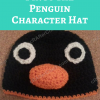 Pingu the Penguin Character Hat Crochet Pattern long image