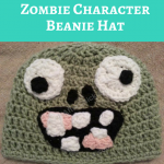 Plants vs. Zombies Zombie Character Beanie Hat Crochet Pattern
