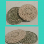 Reversible Coasters Crochet Pattern