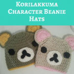 Rilakkuma and Korilakkuma Character Beanie Hats Crochet Pattern