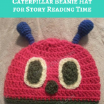 The Very Hungry Caterpillar Beanie Hat Crochet Pattern for Story Reading Time