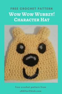 Wow Wow Wubbzy! Character Hat Free Crochet Pattern