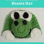 Yoshi Character Beanie Hat Crochet Pattern