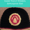 Borderlands Video Game Vault Symbol Applique free crochet pattern from cRAfterChick.com