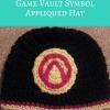 Borderlands Video Game Vault Symbol Applique free crochet pattern from cRAfterChick.com