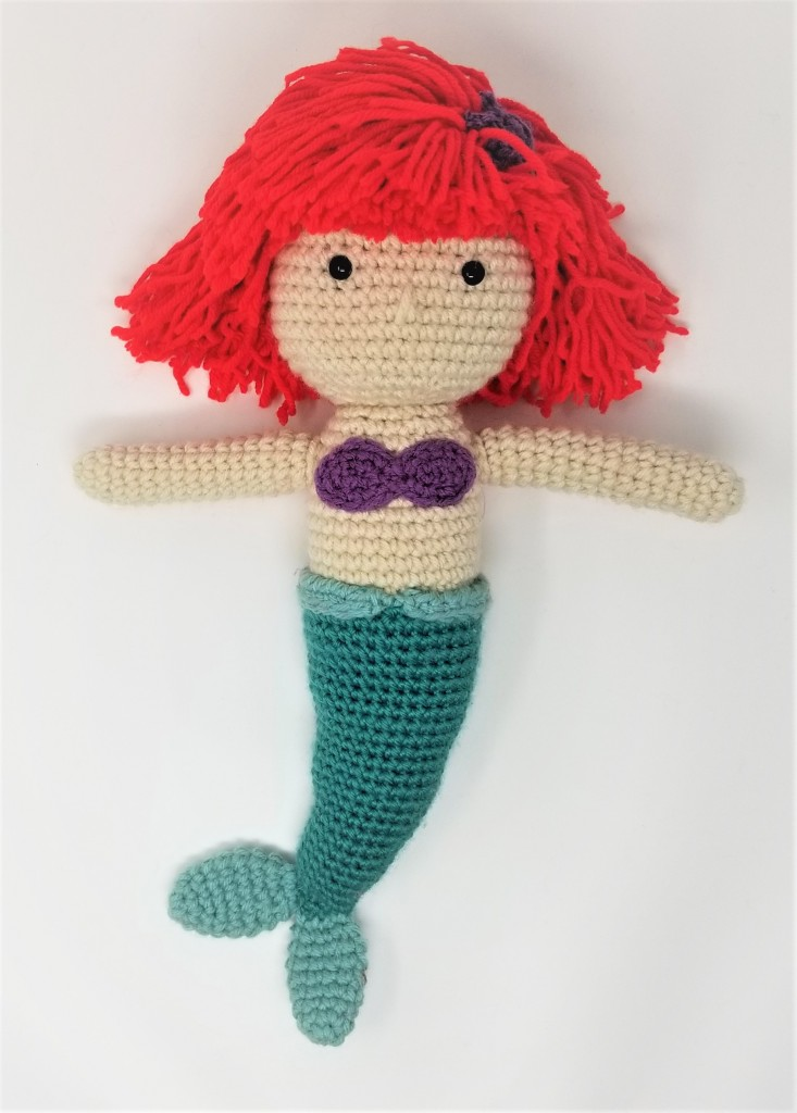 Disney's Ariel Little Mermaid Amigurumi Doll