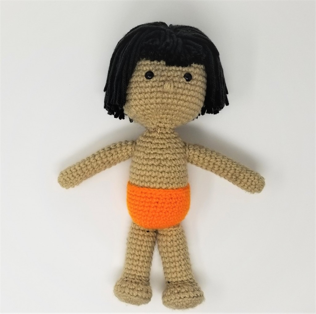 Jungle Book's Mowgli Amigurumi Doll