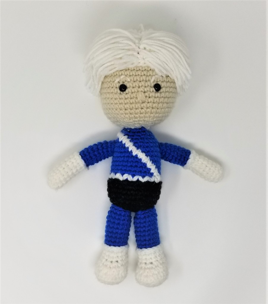 Marvel Quicksilver Amigurumi Doll