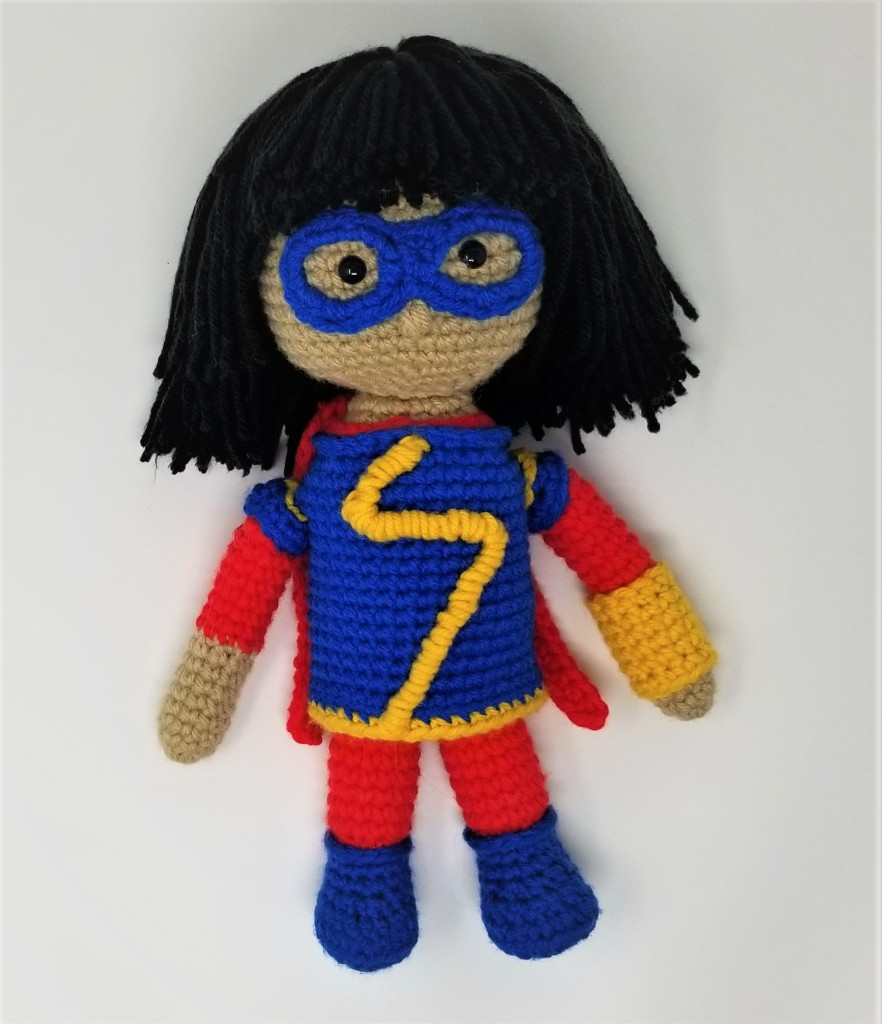 Ms Marvel Kamala Khan Amigurumi Doll