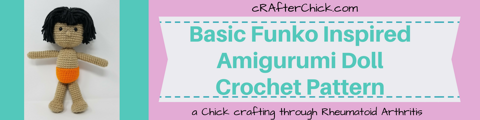 Basic Funko Inspired Amigurumi Doll Crochet Pattern