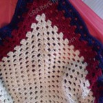 One Giant Granny Square Blanket Crochet Project