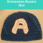 Captain America Superhero Beanie Hat Crochet Pattern