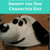 Charlie Brown's Snoopy the Dog Character Hat Free Crochet Pattern